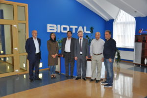 Our company was visited by a delegation from Iran.